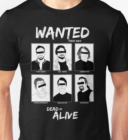 Wanted Grunge Icons Unisex T-Shirt