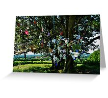 Fairy Tree Tara hill  Greeting Card