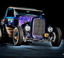 Hot Rod on Blue by jmotes