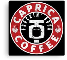 Caprica Coffee Canvas Print