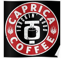 Caprica Coffee Poster