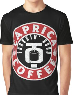 Caprica Coffee Graphic T-Shirt