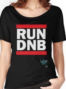 RUN DNB Design - White Women's Relaxed Fit T-Shirt