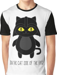 Cat Vader Graphic T-Shirt