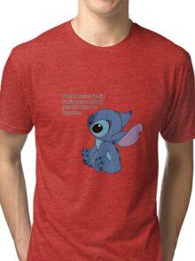 Sad Stitch Tri-blend T-Shirt