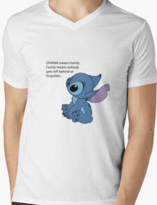 Sad Stitch Mens V-Neck T-Shirt
