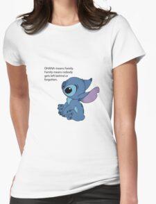 Sad Stitch Womens Fitted T-Shirt