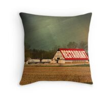 Midwest Diner Throw Pillow