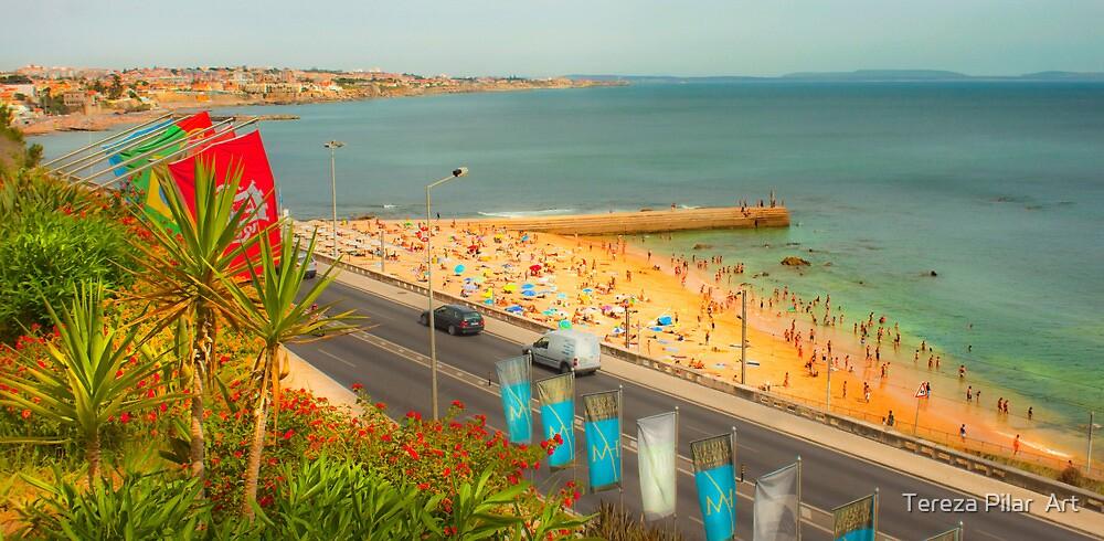 Estoril beach. Hotel cascais Miragem. by terezadelpilar~ art & architecture