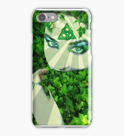 Nature druid iPhone Case/Skin
