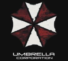 Umbrella Corporation Apparel Hoodie, T-Shirt, or Sticker by Kgphotographics
