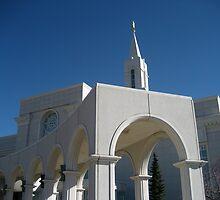 Bountiful Utah Temple by jeffreynelsd
