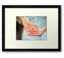 """study hands after masterpiece"" Framed Print"
