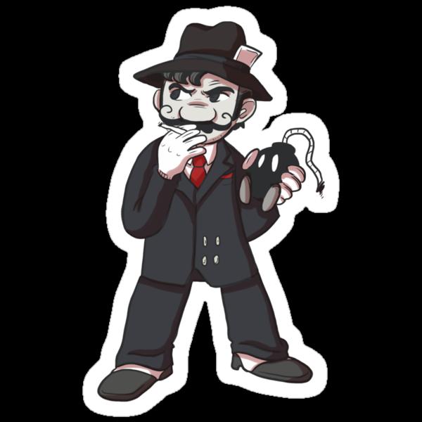 Mafioso Mario by joshmirm