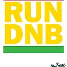RUN DNB Design - R by MrBisto