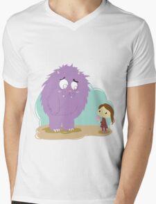 MoMonster Mens V-Neck T-Shirt