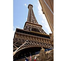 The Eifel Tower Restaurant (Paris Las Vegas Hotel) Photographic Print