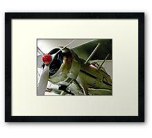 Gloster  Gladiator...........! Framed Print