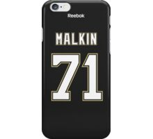 Pittsburgh Penguins Evgeni Malkin Jersey Back Phone Case iPhone Case/Skin