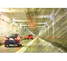 TUNNEL RAIN Photographic Print