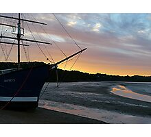 The ship that never was..........! Photographic Print