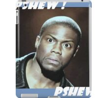 KEVIN HART PSHEW PSHEW iPad Case/Skin