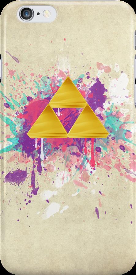 Triforce Splash by Brittany Houston