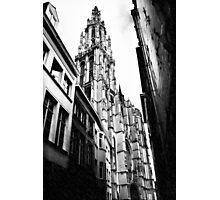 CHURCH RAIN Photographic Print