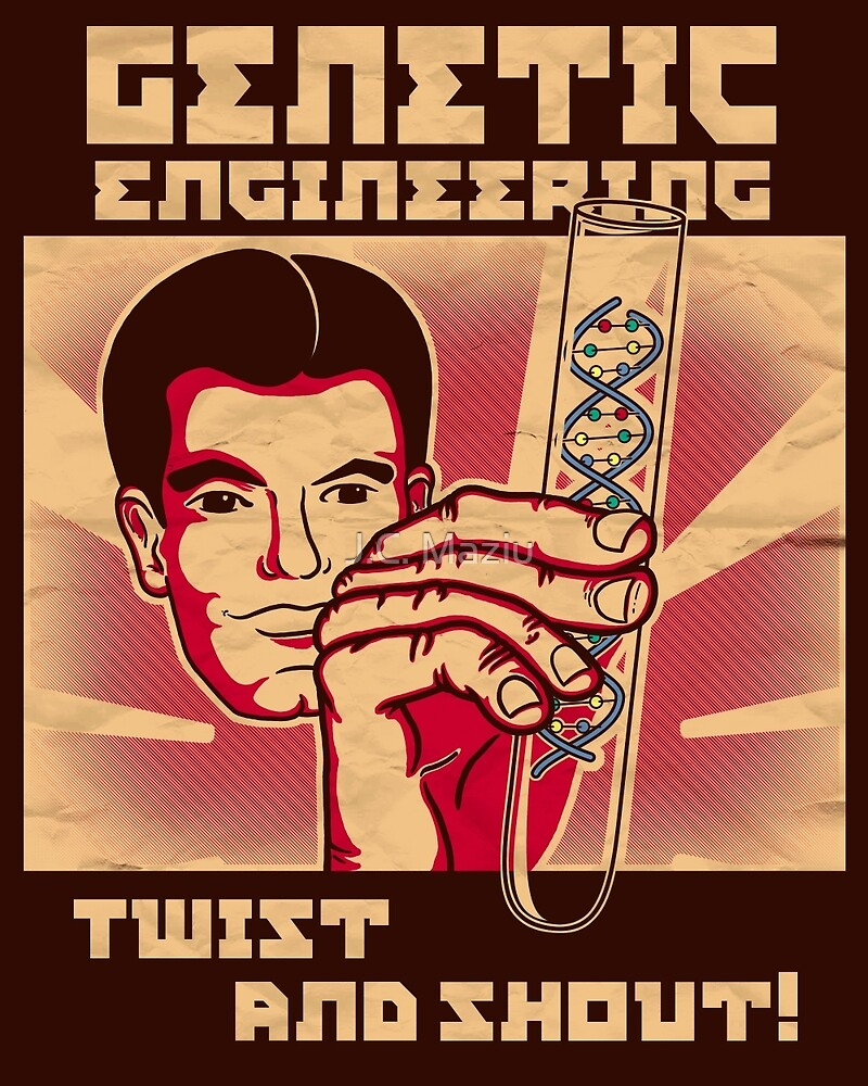 Genetics engineering. by J.C. Maziu