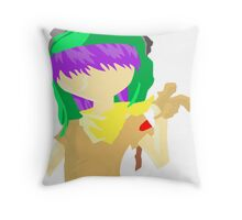 Desert Noodle Throw Pillow