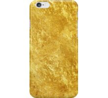 Gold metal iPhone Case/Skin