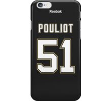Pittsburgh Penguins Derrick Pouliot Jersey Back Phone Case iPhone Case/Skin