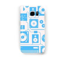 Four To The Floor — Electric Blue Samsung Galaxy Case/Skin
