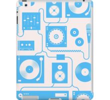 Four To The Floor — Electric Blue iPad Case/Skin