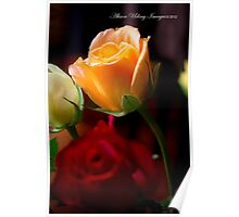 Roses and Romance Poster