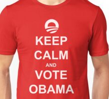 Keep Calm and Vote Obama 2012 Shirt Unisex T-Shirt