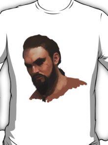 Khal Drogo - Digital Portrait T-Shirt