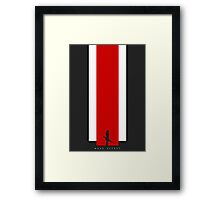 The Effect - FemShep (Clean) Framed Print