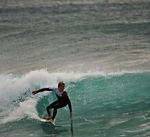 Surfer D'bah 13 August 2012 by Odille Esmonde-Morgan