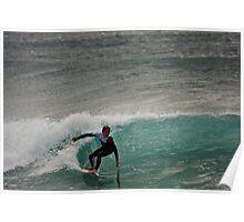 Surfer D'bah 13 August 2012 Poster