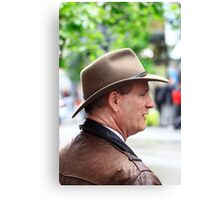 MAN WITH A HAT Canvas Print