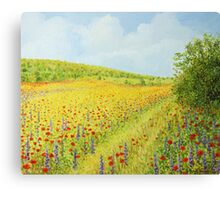 Sea of Blossom II Canvas Print