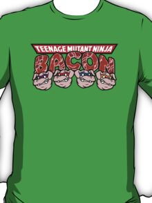 Teenage Mutant Ninja Bacon  T-Shirt