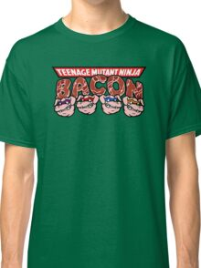 Teenage Mutant Ninja Bacon  Classic T-Shirt