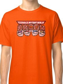 Teenage Mutant Ninja Bacon  Classic T-Shirt