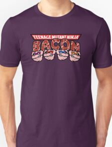 Teenage Mutant Ninja Bacon  Unisex T-Shirt
