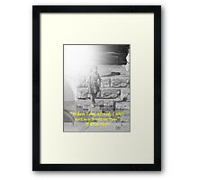"""Psalm 56:3""  by Carter L. Shepard Framed Print"
