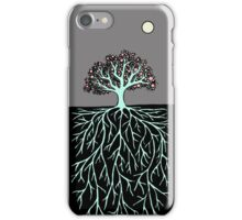 iPhone moon blossom iPhone Case/Skin