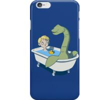 There's something in my bath!! iPhone Case/Skin