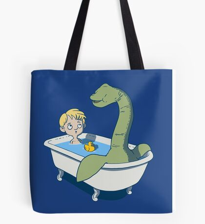 There's something in my bath!! Tote Bag